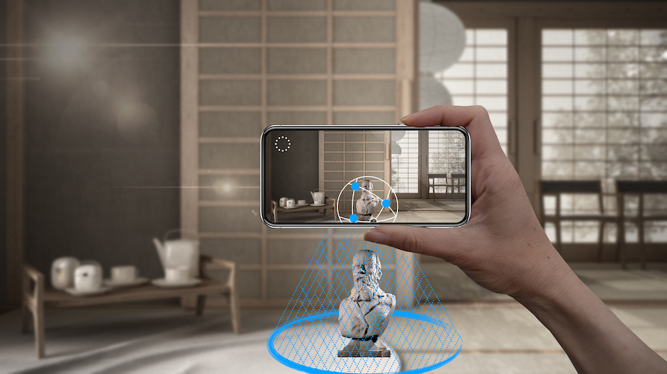 Capture 3D models with your phone and process in the cloud with the AR MOD mobile app