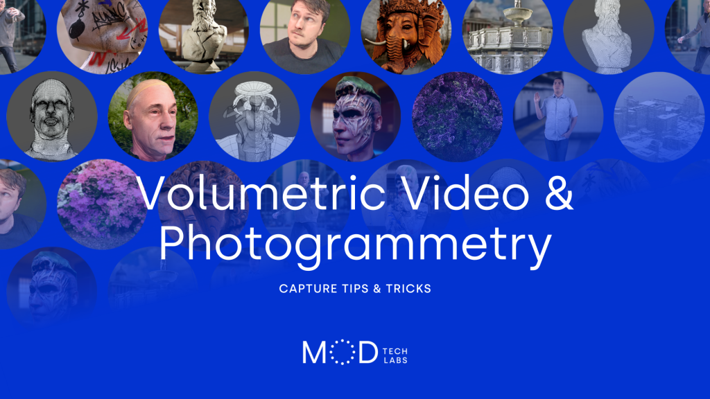 Photogrammetry and Volumetric Video capture tips from SIGGRAPH